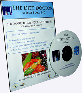 Diet Doctor, software for analyzing nutrition in diets by Steve Blake